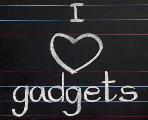I love gadgets