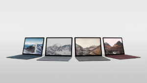 Surface Laptop promotional image