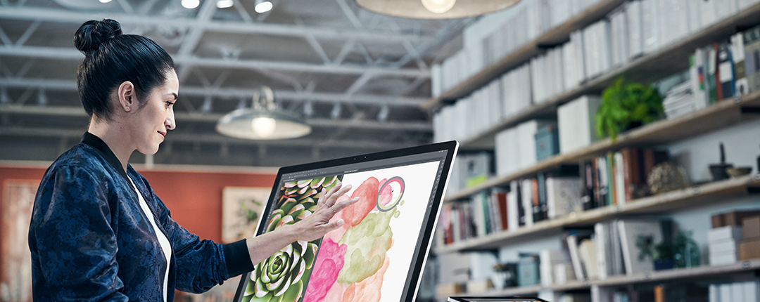 Microsoft Surface Studio Publicity Image