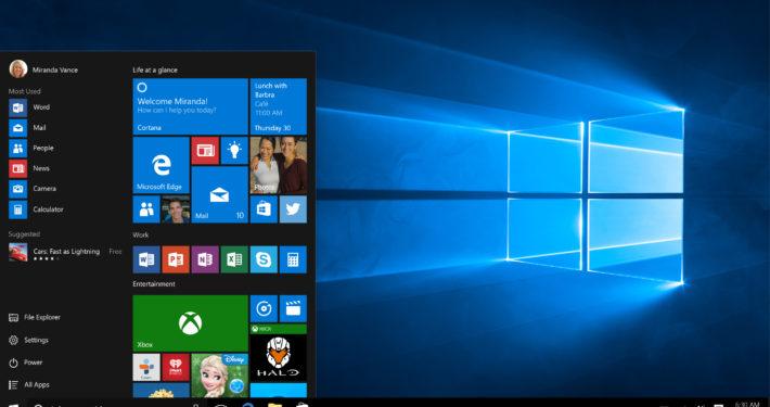 Microsoft Windows 10 Publicity Image