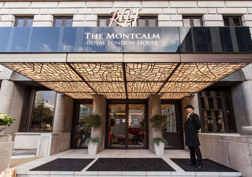montcalm entrance
