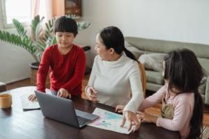 parent and kids online