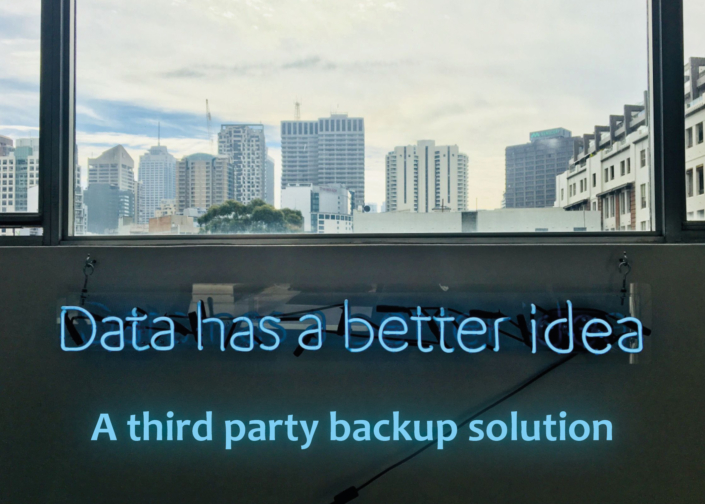 3rd party backup